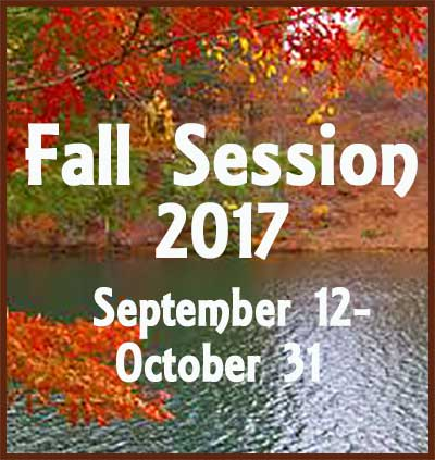 Fall session 2017