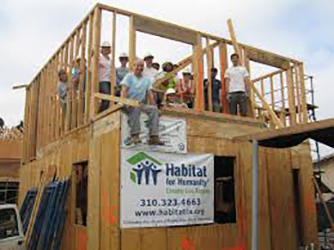 Habitat for Humanity building project