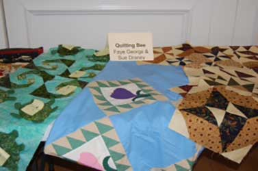 quilts at show and tell